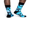 Носки Happy Socks PA01-905 серия Paisley c турецкими огурцами - 2