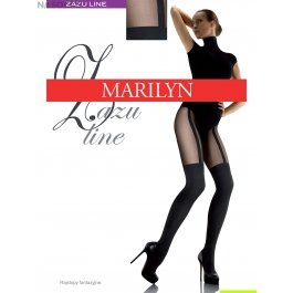 Колготки Marilyn ZAZU LINE женские имитация чулок