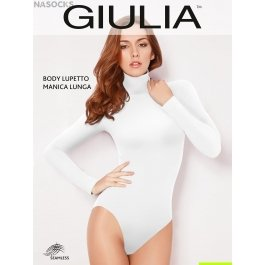 Боди-водолазка Giulia BODY LUPETTO MANICA LUNGA женская бесшовная