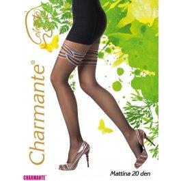 Колготки Charmante MATTINA 20 женские имитация чулок