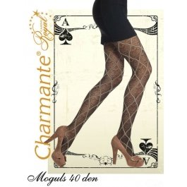 Колготки Charmante MOGULS 40 женские с рисунком
