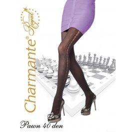 Колготки Charmante PAWN 40 женские с рисунком