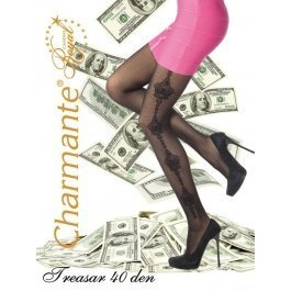 Колготки Charmante TREASAR 40 женские с рисунком