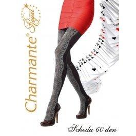 Колготки Charmante SCHEDA 60 женские с рисунком
