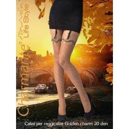 Купить Чулки Charmante GOLDEN CHARM 20 aut. женские с рисунком