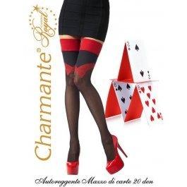 Купить Чулки Charmante MAZZO DI CARTE aut. 20 женские с рисунком