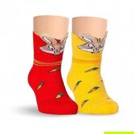Носки детские для малышей, с зайкой Lorenz Л3