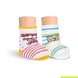 Носки детские, для новорожденных, махровые, с рисунком Lorenz Л39