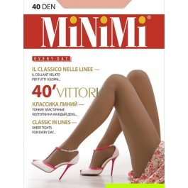 Колготки женские классические MiNiMi Vittoria 40 den