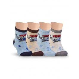 Носки детские для мальчиков, махровые, с рисунком Lorenz Л52