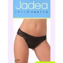 Трусы-слип женские с шелковистым кружевом и ажурной резинкой Jadea 512 slip