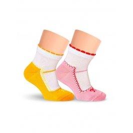 Носки детские для девочек, с рисунком Lorenz Л9