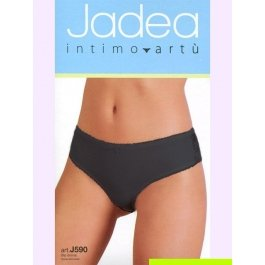 Трусы-слип женские с эластичным кружевным и ажурной резинкой Jadea 590 slip