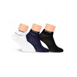 Купить Носки унисекс спортивные, укороченные, с махрой по следу Lorenz С2М
