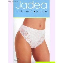 Трусы-слип женские из хлопка с модалом, с кружевными вставками Jadea 791 slip