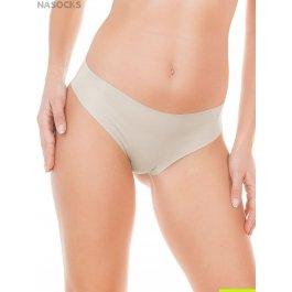 Трусы-слип женские из хлопка, с тонким краем и широкой боковой частью Jadea 8000 slip