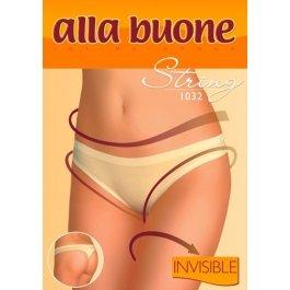 Трусы женские стринг бесшовные Alla Buone 1032