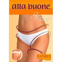 Трусы женские стринг бесшовные Alla Buone 1039