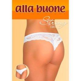 Трусы женские стринг с кружевом Alla Buone 1001