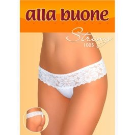 Трусы женские стринг с кружевом Alla Buone 1005