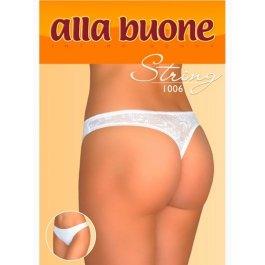 Трусы женские стринг с кружевом Alla Buone 1006
