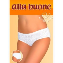 Трусы женские макси-слип с кружевом Alla Buone 2014