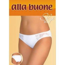Трусы-слип женские, с кружевными вставками и заниженной талией Alla Buone 2021