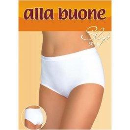 Купить Трусы-слип женские из хлопка, классические однотонные Alla Buone 5016