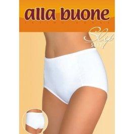 Трусы-слип женские из хлопка с высокой талией  Alla Buone 5017