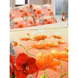 Купить Комплект постельного белья, с яркими маками Sova и Javoronok Семейный