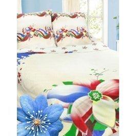 Купить Комплект постельного белья с соцветиями жасмина Sova и Javoronok Семейный