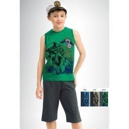 Комплект для мальчиков с рисунком Pelican BAVB411