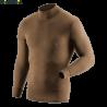 Джемпер мужской с длинным рукавом, из шерсти мериносов Guahoo 22-0340 N - 3