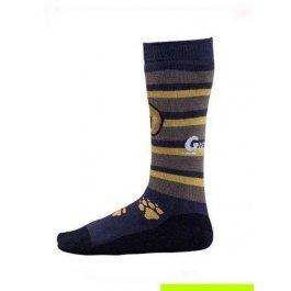 Носки детские длинные, из шерсти мериносов и хлопка Guahoo 55-0673-CF
