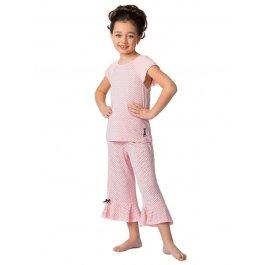 Пижама детская для девочек Charmante AGXP 511411 с принтом