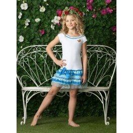 Платье детское для девочек Charmante AGQ 411313 с вышывкой