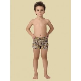 Трусы-шорты для мальчиков Charmante BX 461306 в раппортном принте