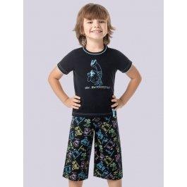 Комплект для мальчиков (футболка + брюки) Charmante BXP 371309 с принтом