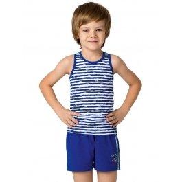 Комплект для мальчиков (майка-борцовка и шорты) Charmante BXP 451310 Морская полоска