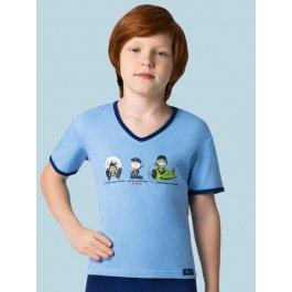 Футболка для мальчиков Charmante BF 441308 с принтом