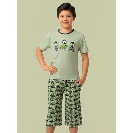 Комплект для мальчиков (футболка и брюки) Charmante BXP 401310 с принтом