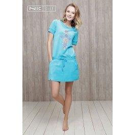 Платье Nic Club Fiato 1404 жен. велюровое