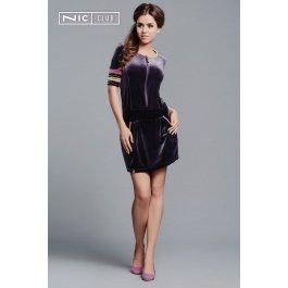 Платье Nic Club Lucente 1403 женское велюровое