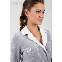Халат Nic Club Tulipano 1502 женский воротник-шалька