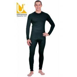 Кальсоны Ultramax DRY 15 (U) U1121-BLK-K мужские с манжетами