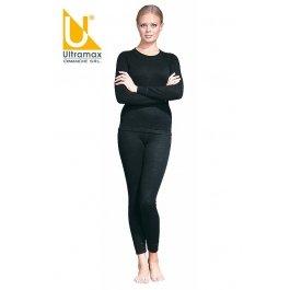 Ком-т термобелья жен. Ultramax Merino 14 (U) U2122 - BW двухслойный