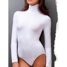 Боди IntimoAmore seamless Body dolcevita basic с рукавами женское