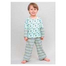 Пижама ЛУНОКОТ 10317 с рисунком для мальчиков