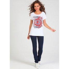 Комплект NicClub Costa Marina 1505 футболка + брюки женские