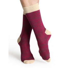 Носки Happy Socks HE11-002 с контрастными зонами